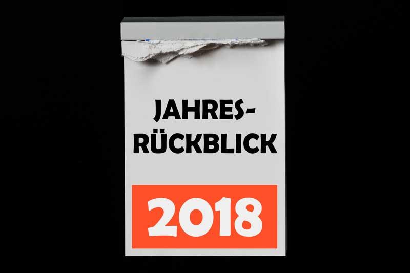 Rückblick 2018 von Tim Reckmann pixelio.de