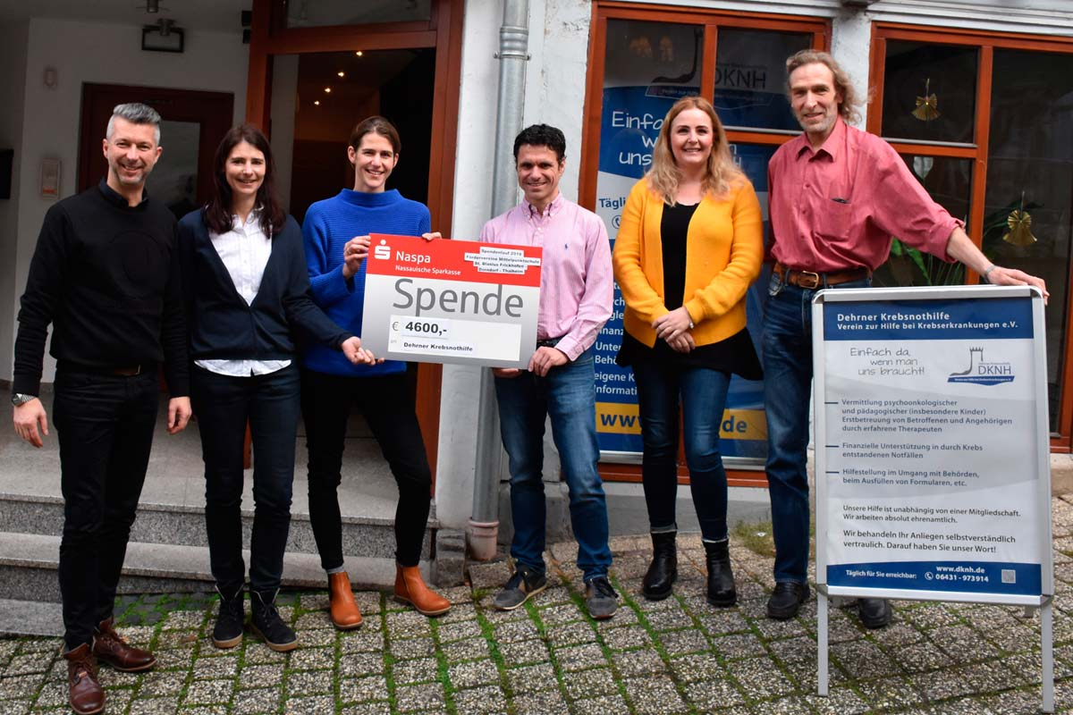 Spendenlauf in Frickhofen erbrachte 4600 Euro für die DKNH