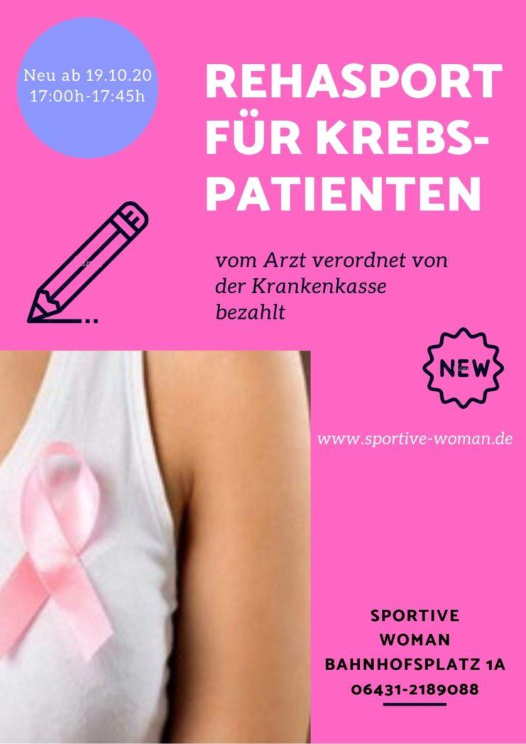 Rehasport für Krebspatienten